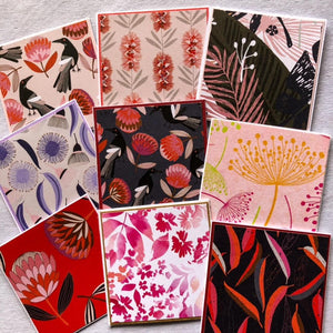Gift Cards- Handmade Floral Prints