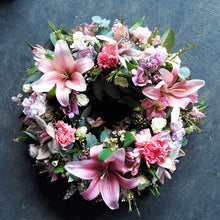 Load image into Gallery viewer, Pink Wreath