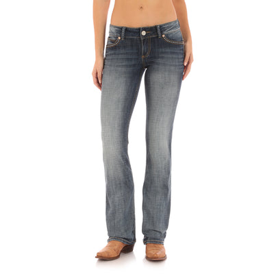 Wrangler Womens Retro Low Rise Boot Cut Jean