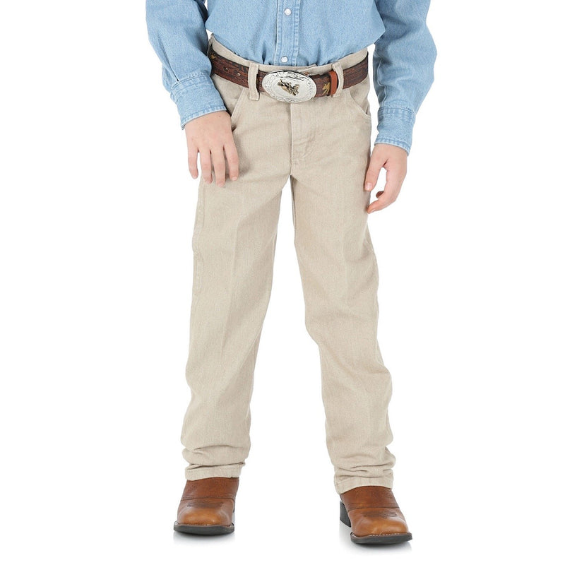 Wrangler Boys Tan Original Fit Jeans