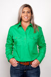 Just Country Ladies Jahna Long Sleeve Work Shirt