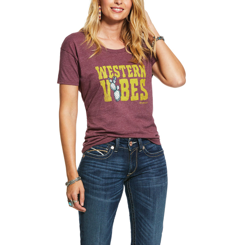 Ariat Womens Western Vibes Tee