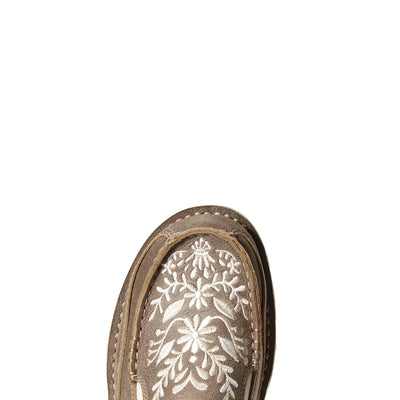 Ariat Womens Cruiser Embroidered Brown Bomber