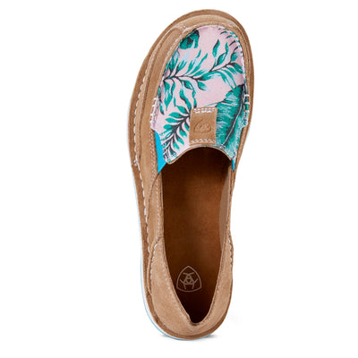 Ariat Womens Cruisers Camel/Palm Print