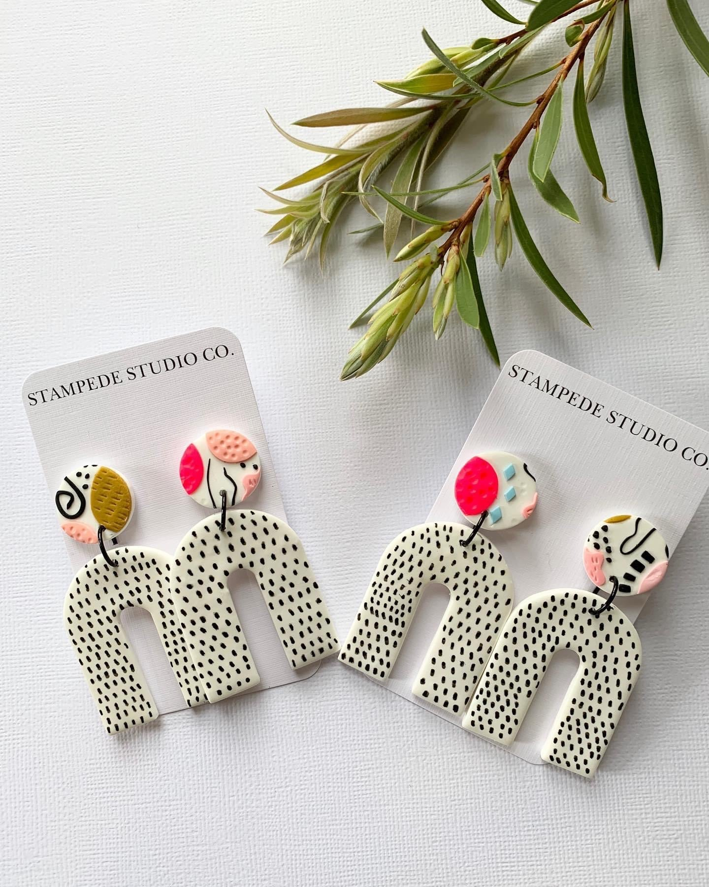 Stampede Studio Co Statement Earring