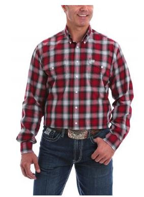Cinch Mens Long Sleeve Shirt