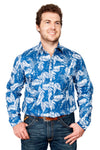 Just Country Austin Full Button Print Workshirt