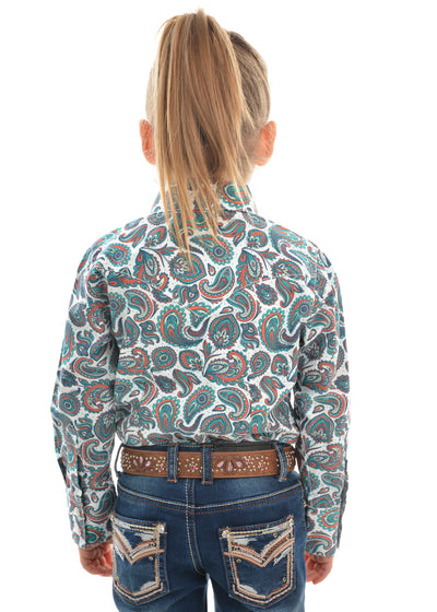 Pure Western Girls Ella Print Shirt
