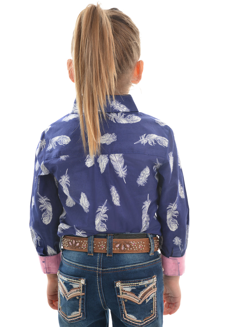 Thomas Cook Girls Feather Shirt