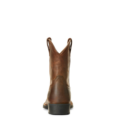 Ariat Kids Hrtg Roper Distressed Brown