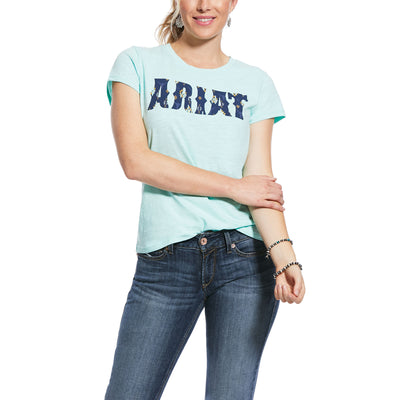 Ariat Womens Real Ariat Logo Tee