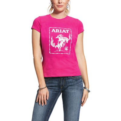 Ariat Womens Real Stamp Tee