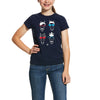 Ariat Girls Hipster T Shirt
