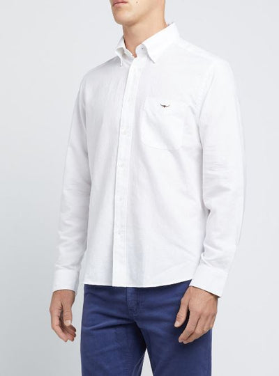 R M Williams Collins Button Down Shirt