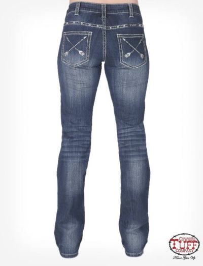 Cowgirl Tuff Straight Shooter Jean