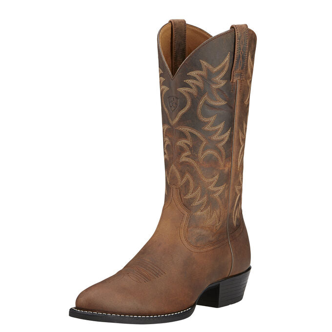 Ariat Mens Heritage Western R Toe Boot
