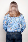 Just Country Ladies Georgie Half Button Print Workshirt