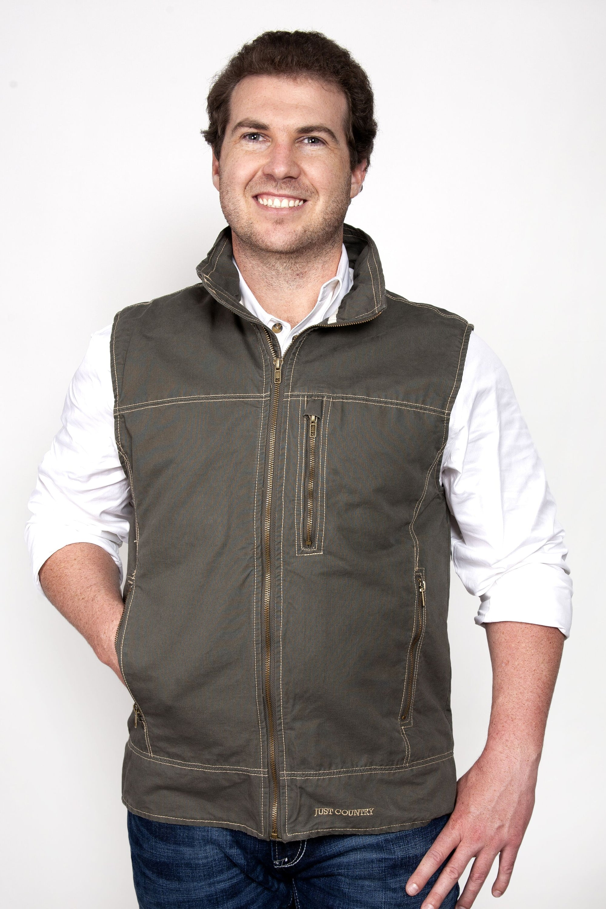 Just Country Mens Joshua Vest