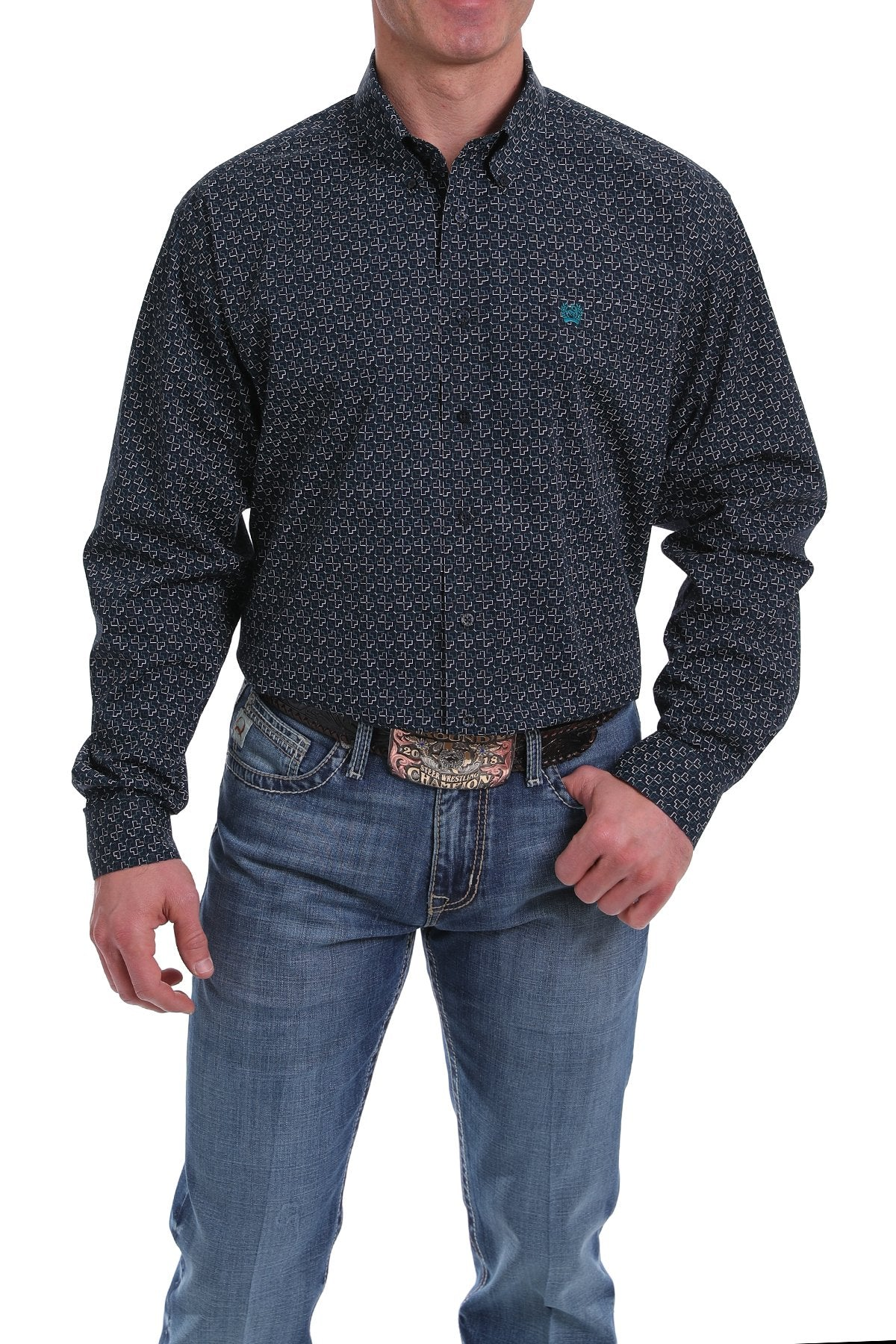 Cinch Mens Lead Dont Follow Shirt