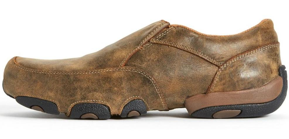Twisted X Mens Cowboy Casual Driving Mocs