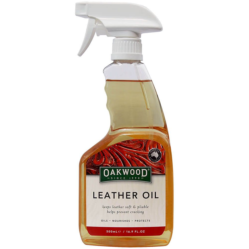 Oakwood Leather Oil 5ooml