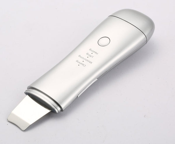 ZAQ UltraScrub Dual-Solution Ultrasonic Scrub Spatula - Lifting, Moisturizing, Cleansing and Heat Therapy