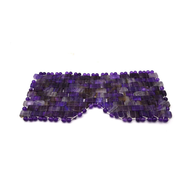 Amethyst Eye Mask - Handmade