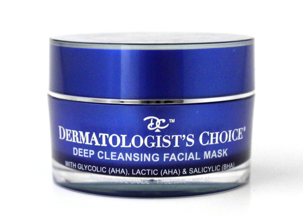 Dermatologist's Choice - Deep Cleansing Facial Mask