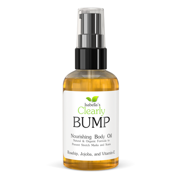 Isabella's Clearly - Bump, Stretch Marks And Scars Prevention Body Oil (4 Oz.)