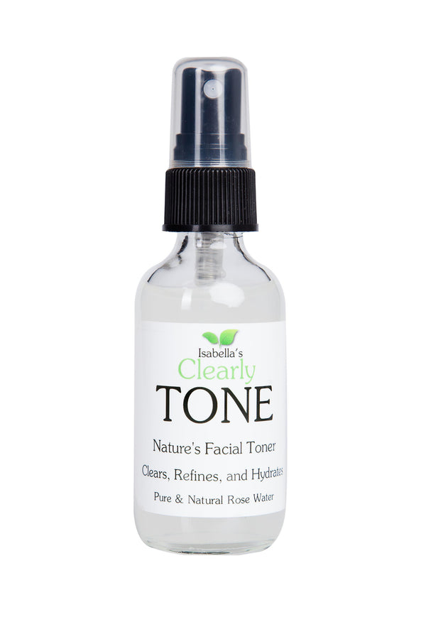 Isabella's Clearly - Tone, Pure Rose Water Facial Toner (2 Oz.)