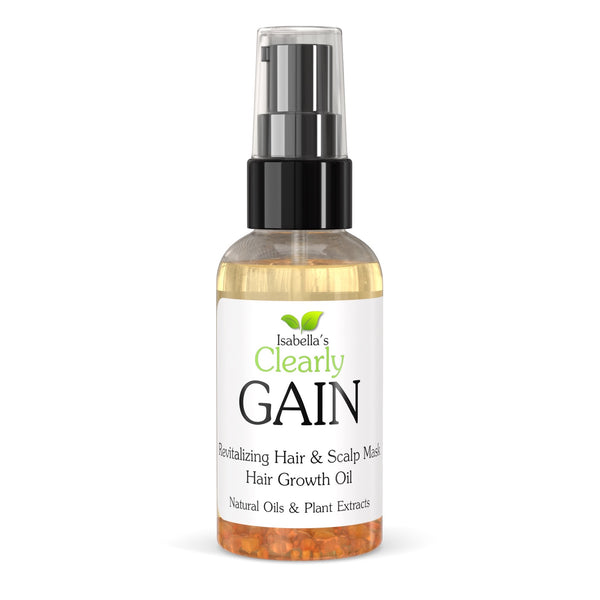 Isabella's Clearly - Gain, Hair Growth Oil Mask (2 Oz.)