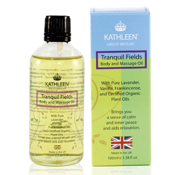 Kathleen Natural - Tranquil Fields Body And Massage Oil