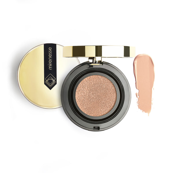 Mirenesse - 10 Collagen Cushion Compact Airbrush Foundation - 23.mocha