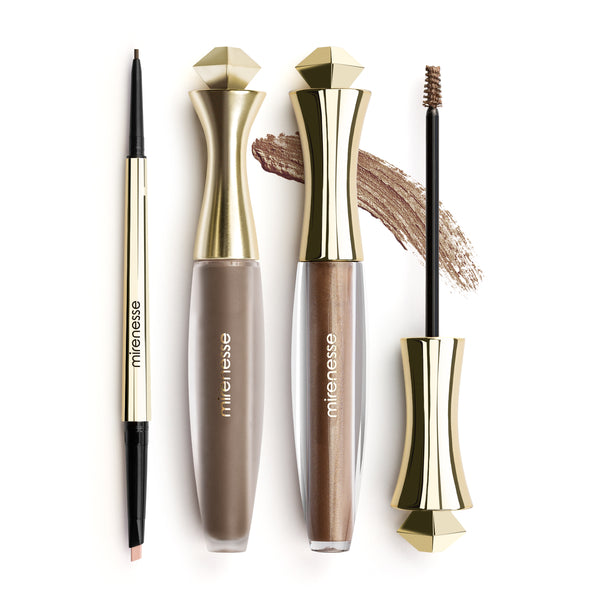 Mirenesse - Master Perfect Brows All Day 3pce- Dark Brown