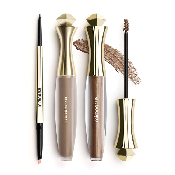 Mirenesse - Master Perfect Brows All Day 3pce- Silk Brown
