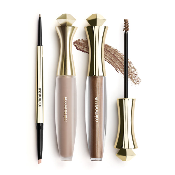 Mirenesse - Master Perfect Brows All Day 3pce-taupe