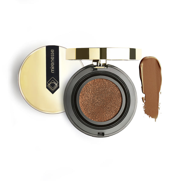 Mirenesse - 10 Collagen Cushion Compact Airbrush Foundation 30. Espresso