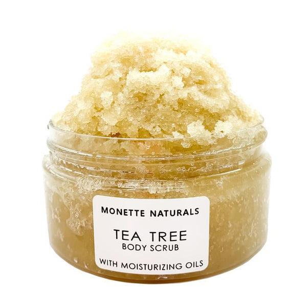 Monette Naturals - Tea Tree Body Scrub