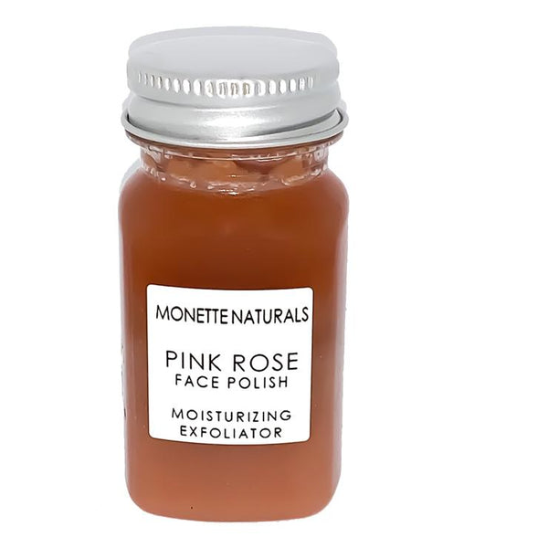 Monette Naturals - Pink Rose Face Polish