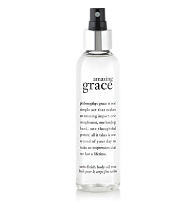 Philosophy - Amazing Grace Satin-finish Body Oil Mist