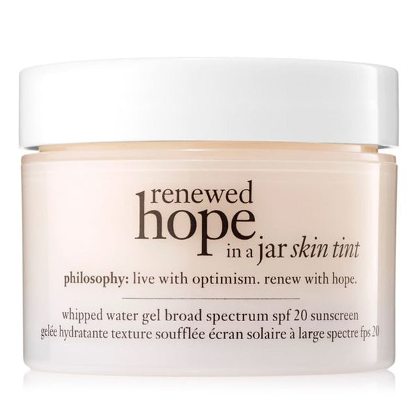 Philosophy - Renewed Hope In A Jar Skin Tint Spf 20 Sunscreen 3.5 Sand