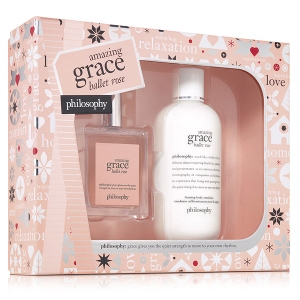 Philosophy - Amazing Grace Ballet Rose 2-piece Gift Set Holiday 2018