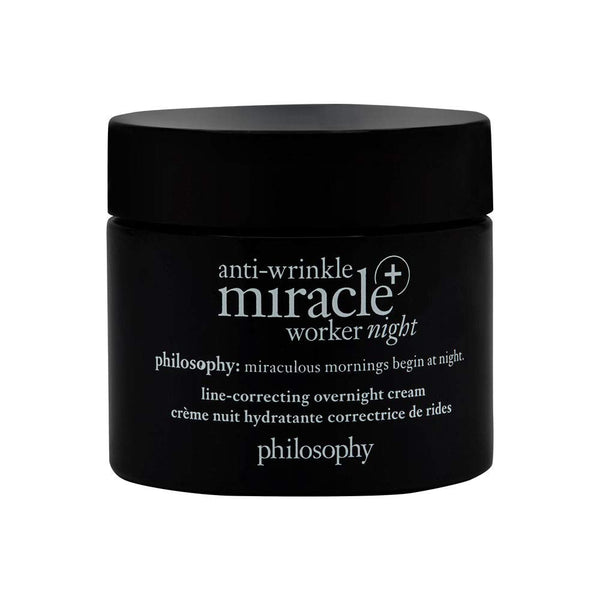Philosophy - Anti-wrinkle Miracle Worker+ Night Line-correcting Overnight Cream 2 Oz.
