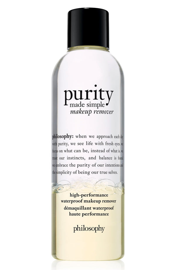 Philosophy - Purity Made Simple High-performance Waterproof Makeup Remover 3.4 Oz.