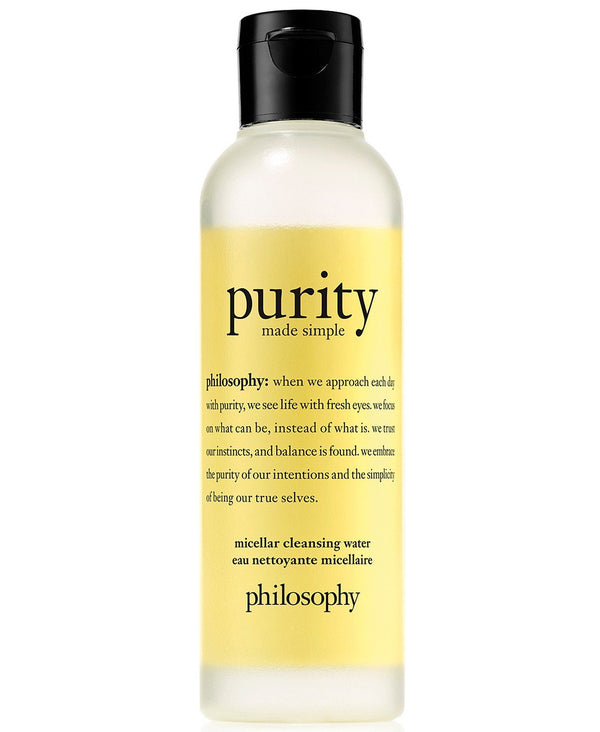 Philosophy - Purity Made Simple Micellar Cleansing Water 6.7 Oz.