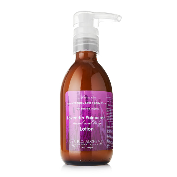 Rd Alchemy Natural Products - Lavender Palmarosa - Hand & Body Lotion
