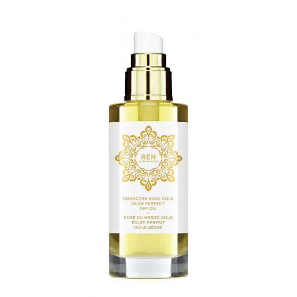 Ren - Moroccan Rose Gold Glow Perfect Dry Oil