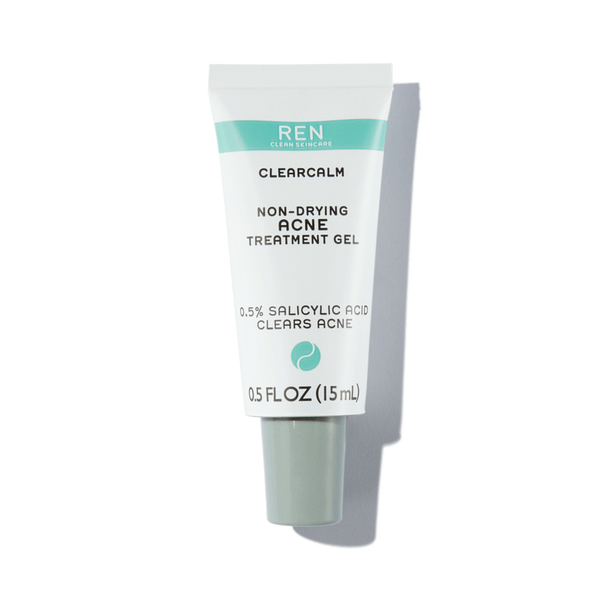 Ren - Clearcalm Non-drying Acne Treatment Gel 0.5 Oz.