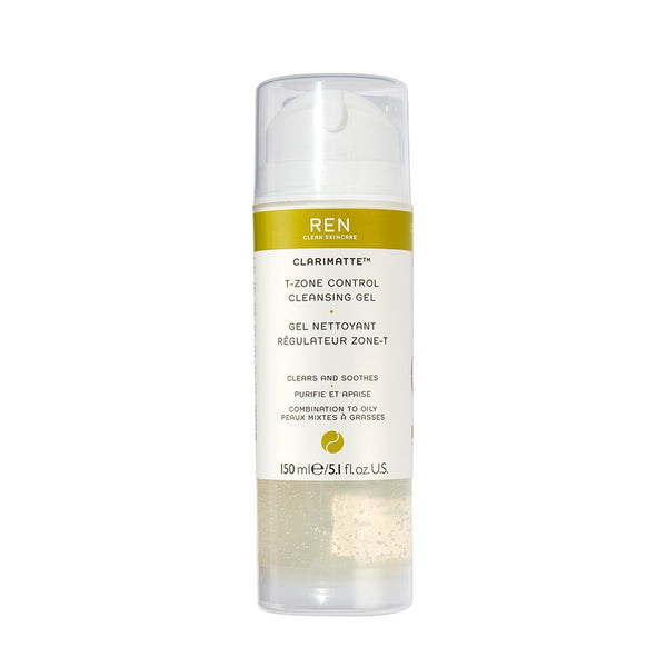 Ren - Clarimatte T-zone Control Cleansing Gel 5.1 Oz.