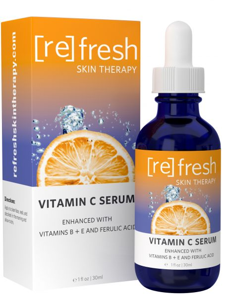 Refresh Skin Therapy - Vitamin C Serum With Vitamins E, B And Ferulic